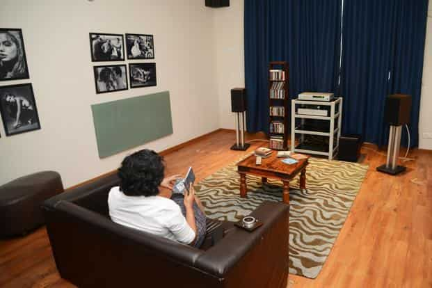 Attrayant ... A Sample Listening Room In Bassu0027nu0027Treble. Photo: Ramesh Pathania/