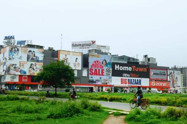 The deal by Amazon's investment arm is pegged at about Rs 2,500 crore. Future Retail has more than 1,100 physical stores across India. Photo: Mint