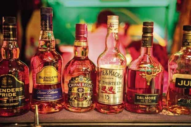 90% of Pernod's volume sales in India come from Seagram's brands—Imperial Blue, Royal Stag and Blender's Pride. Bloomberg