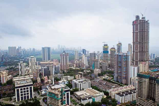 While residential real estate is going through its worst phase, commercial real estate is booming in India. Photo: Aniruddha Chowdhury/Mint