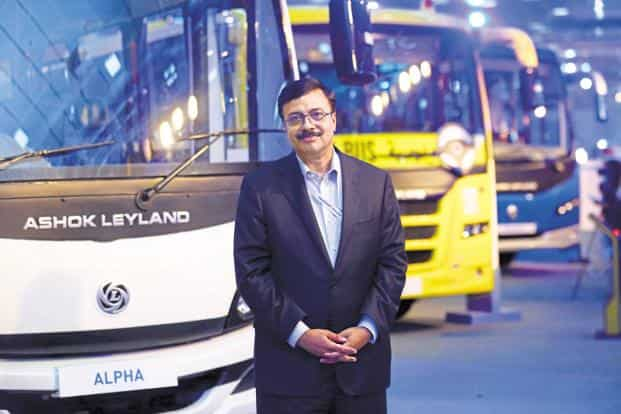 Ashok Leyland CEO Vinod K Dasari has been with the company for nearly 14 years. Photo: Mint