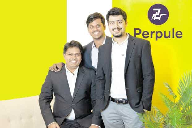 Perpule founders (from left) Yogesh Ghaturle, Saketh B.S.V. and  Abhinav Pathak. Perpule currently works mostly in Bengaluru and Hyderabad, and across several retail store brands like Big Bazaar, Vishal Mega Mart, Spar, More and Hypercity.