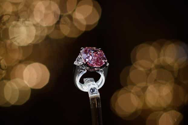 Better Than Diamond >> In Pics The Rare Pink Diamond Sold For A Record 50 Million