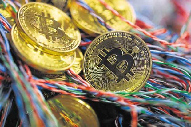 Many of Bitcoin's closest peers also slid on Thursday, while Bitcoin Cash, which will split today into two coins, rose 1.5%. Photo: Bloomberg