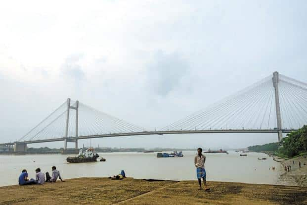 Image result for second hooghly bridge