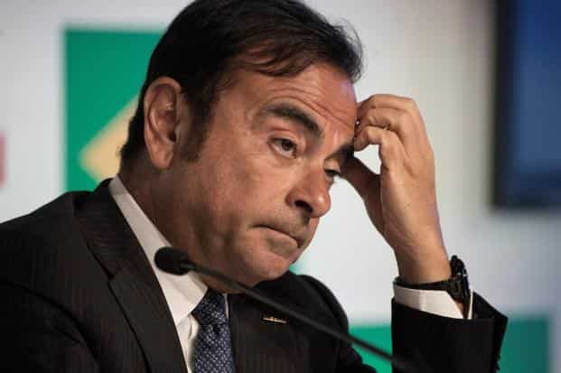 Securing a unanimous decision to oust Carlos Ghosn as chair will likely be difficult because Nissan directors that used to work at Renault may not back the dismissal until the allegations against Ghosn are made clear. File photo: AFP
