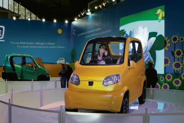 Bajaj Auto's Qute, the first locally produced quadricycle, had initially hit regulatory hurdles due to safety concerns. HT
