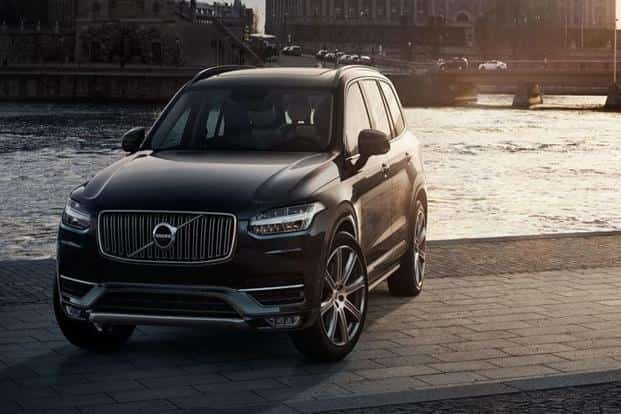 Volvo's XC 90 will become the first plug-in hybrid vehicle to be assembled in India. Source: Company website