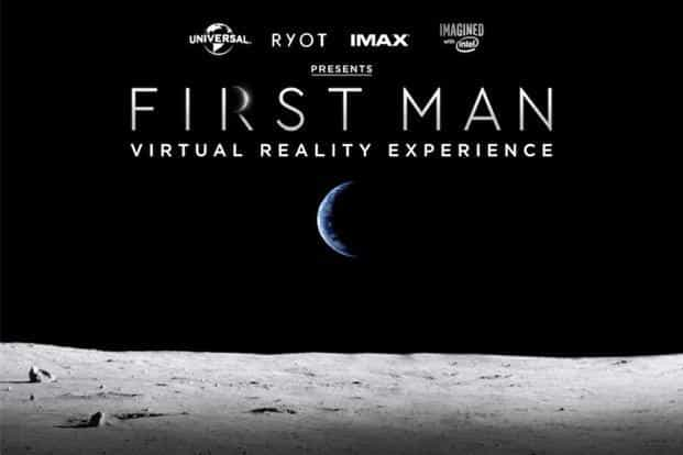 'First Man: Virtual Reality Experience' was launched at the premiere of the film 'First Man'. Photo: Twitter.com/Ravivelhal