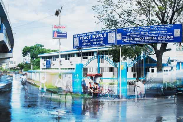 The Topsia Hindu Burial Ground in Kolkata. Photo: Bivas Bhattacharjee