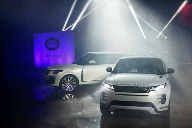The new Range Rover Evoque will be priced from £31,600 ($41,000) in the UK and commence deliveries in the first months of 2019. Photo: Bloomberg
