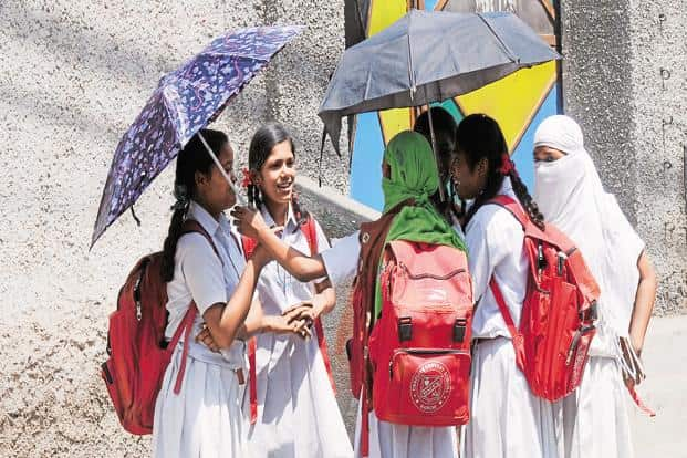 The school bag of a class 10 student should not weigh more than 5kg, the HRD ministry has said. Photo: HT