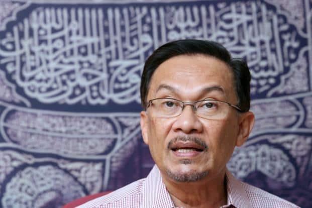 Prime minister-in-waiting Anwar Ibrahim.  Photo: Bloomberg