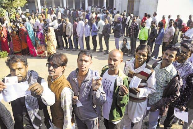Change is necessary. If there is one party-rule for a long time, it will act according to its own whims and fancies, say some voters. Photo: PTI