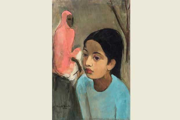 093764d6f9b5 Sotheby's Mumbai auction: Amrita Sher-Gil's 'The Little Girl in Blue ...