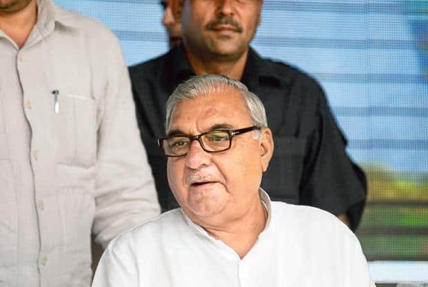 Former Haryana chief minister Bhupinder Singh Hooda. Photo: Pradeep Gaur/Mint