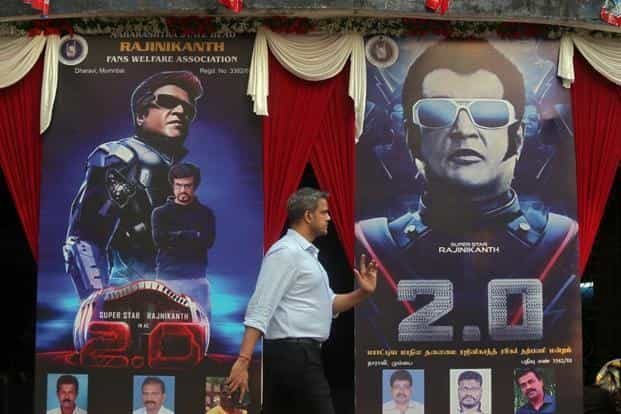 '2.0' has made ₹380 crore in box office collections worldwide, making it third Tamil film to do so after 'Enthiran' (₹320 crore) and Kabali (₹305 crore). Photo: Reuters