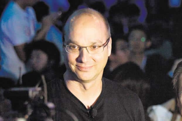 Father of Android Andy Rubin. Photo: Bloomberg