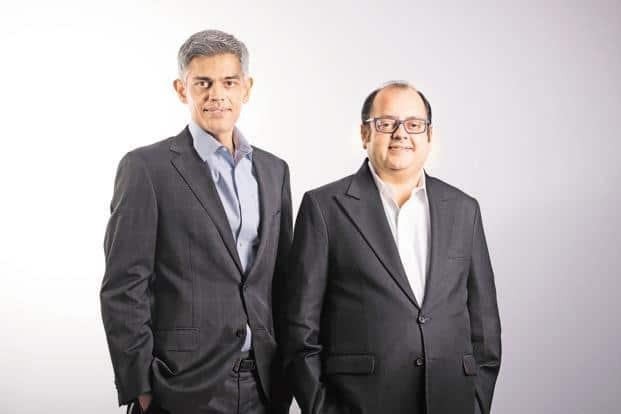Faering Capital's co-founders Aditya Parekh (left) and Sameer Shroff.