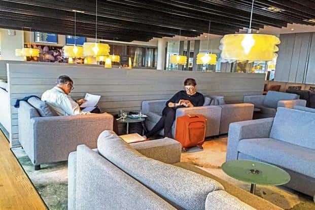 An airport lounge offers facilities that make travel easier. Photo: iStock