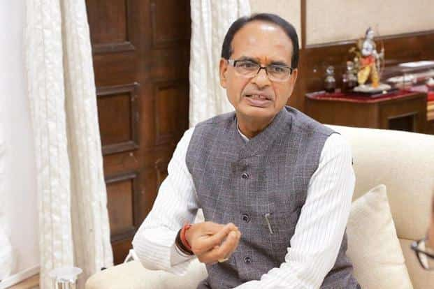The main theme of Chouhan's campaign was the Congress party's 'disastrous' rule in Madhya Pradesh 15 years ago. Photo: Hindustan Times