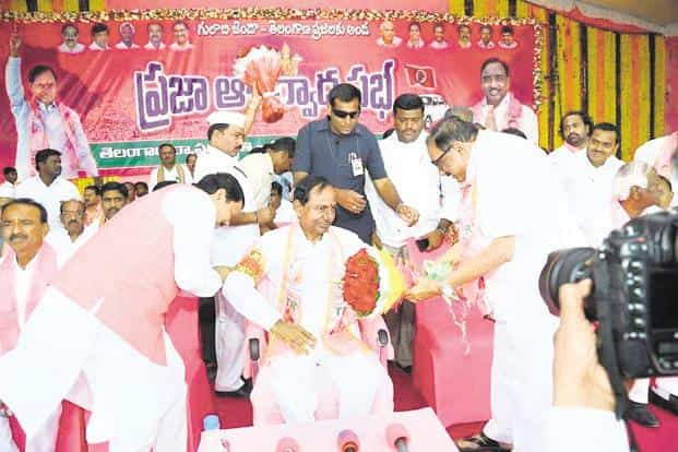 TRS declared its first list and moved into campaign mode before the others