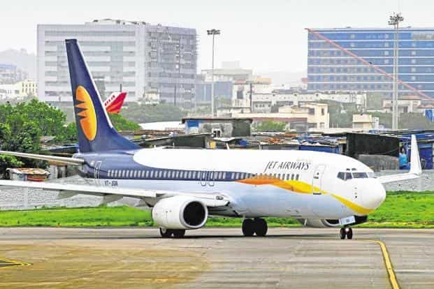 Jet Airways, which had 13.3% share of the domestic aviation market in October, needs to urgently raise cash to stay afloat. Photo: Abhijit Bhatlekar/Mint