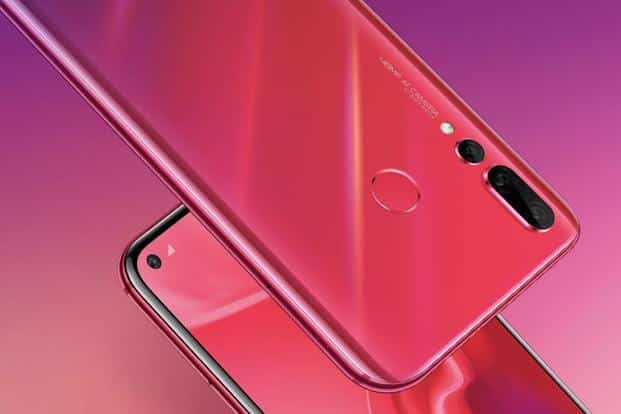 The Huawei Nova 4 is only the third smartphone in the world