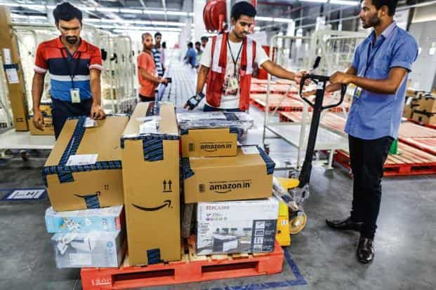 For sellers onboarding, Amazon has put in place machine learning models to detect potential risks of the seller's account. Photo: Bloomberg