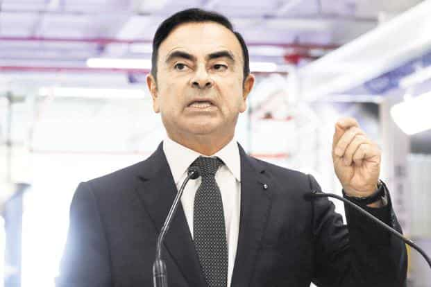 Carlos Ghosn, 64, was arrested upon landing at a Tokyo airport on November 19. Photo: AFP