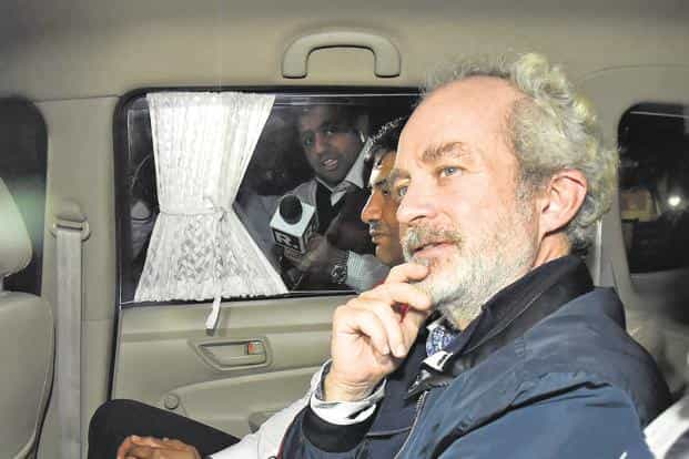 Christian Michel is among the three alleged middlemen being probed in the AgustaWestland case by the ED and the CBI. Photo: PTI