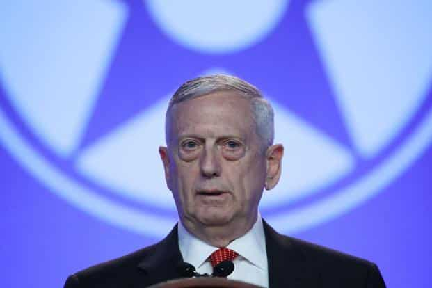 Investors also have been anxious over the surprise resignation of defence secretary Jim Mattis, who laid out significant policy disagreements with the US president in his letter to Trump, which he made public. Photo: Getty Images