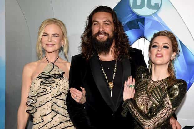 """""""Aquaman"""" brings fresh momentum to the DC Comics' extended universe, which began with """"Man of Steel"""" in 2013. Photo: AFP"""