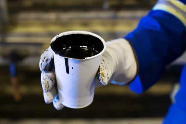 International benchmark Brent crude futures fell 27 cents, or 0.5 percent, to $53.55 a barrel at 0106 GMT. Photo: Reuters