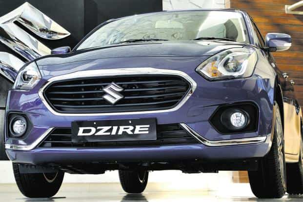The Maruti Suzuki DZire is seen as a preferred car for taxi firms such as Ola and Uber. Photo: PTI