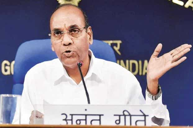 """""""Seen from a global perspective, the prospects for clean mobility are bright,"""" Union Heavy Industries Minister Anant Geete said. Photo: PTI"""
