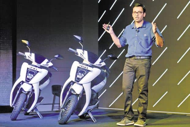 Ather Energy co-founder Tarun Mehta. Ather Energy is developing a new range of electric scooters using a new platform that is scheduled to hit the markets by 2020-2021. It also plans to enter the electric motorcycle segment in the next few years. Photo: AFP