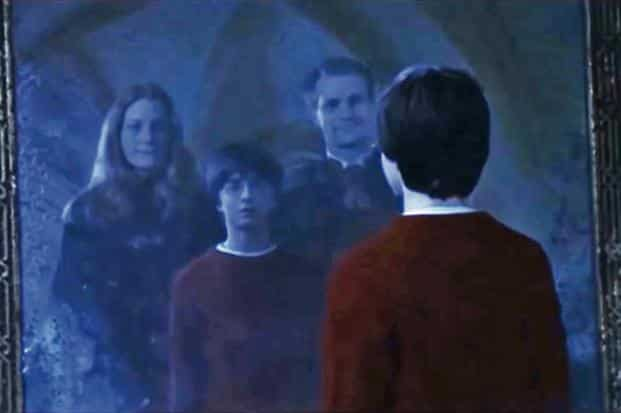 Instead of making New Year resolutions, dream  Lily And James Potter In The Mirror