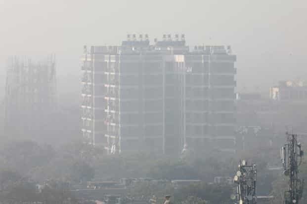 The federal government air quality index rated Delhi's air quality 'very poor' on Sunday