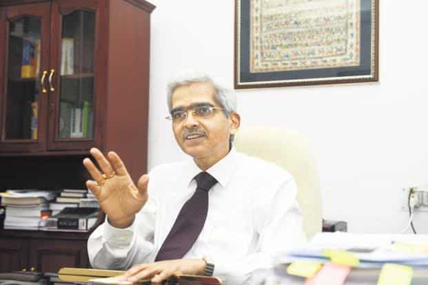 A file phot of RBI governor Shaktikanta Das. About Rs1.47 trillion of agricultural loans are outstanding in Madhya Pradesh, Rajasthan and Chhattisgarh, which announced waivers recently.