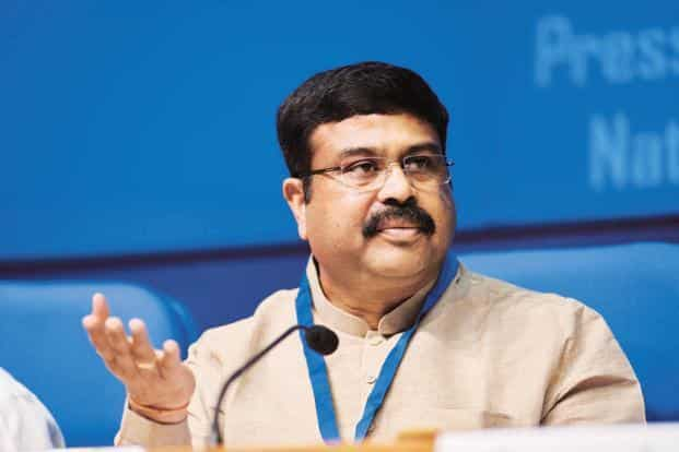 """Dharmendra Pradhan said """"special incentive besides the incentive already provided"""" will be given to difficult fields of ONGC. Photo: Mint."""
