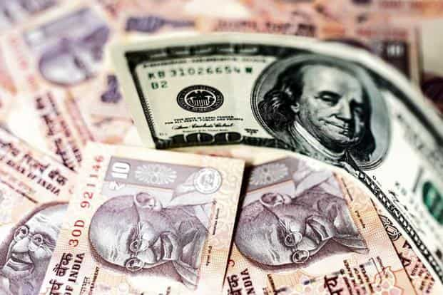 The rupee performed the worst among Asian currencies in eight years and was down 8.46% in 2018. Photo: Bloomberg