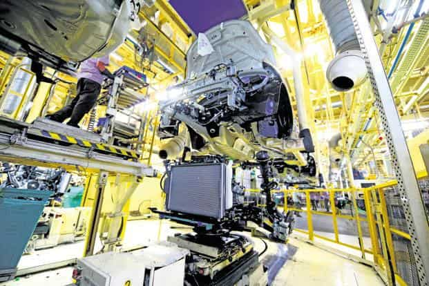 Indian steel makers do not manufacture auto grade steel, leaving domestic auto companies to turn to South Korean and Japanese steel. Photo: Ramesh Pathania/Mint
