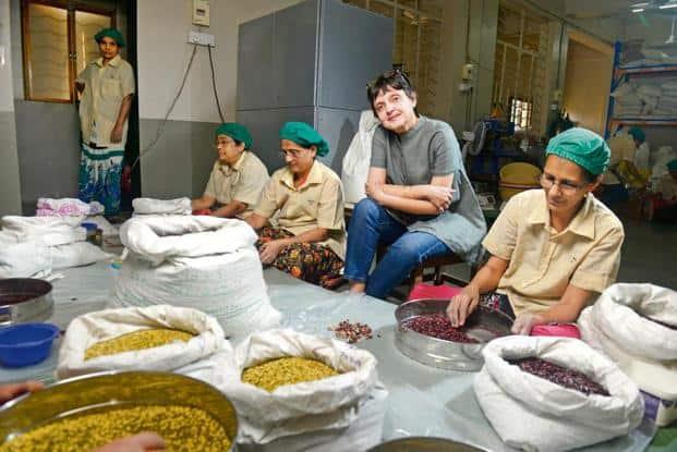 Aditi Malik likes it when people ask questions about organic products.  Photo: Abhijit Bhatlekar/Mint