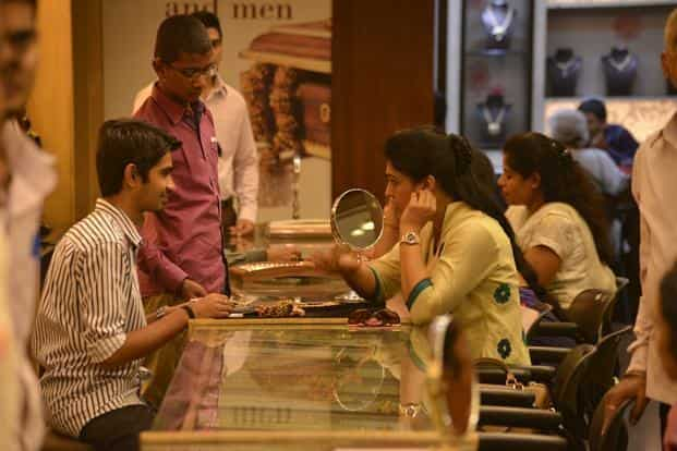 Gold prices today jumped Rs 225 to Rs 33,100 per 10 gram