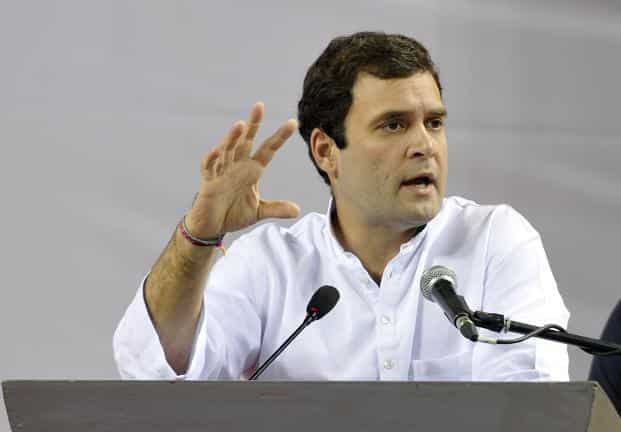 A file photo of Congress vice-president Rahul Gandhi. Photo: Sonu Mehta/HT.