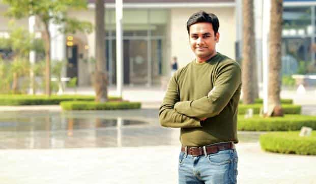 Vikash Dokania, 34, bought an apartment in an affordable housing project in Gurgaon as he expects good returns in the future. Photo: Ramesh Pathania/Mint
