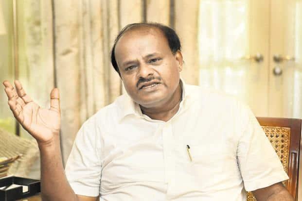 Karnataka chief minister H.D. Kumaraswamy. Photo: PTI
