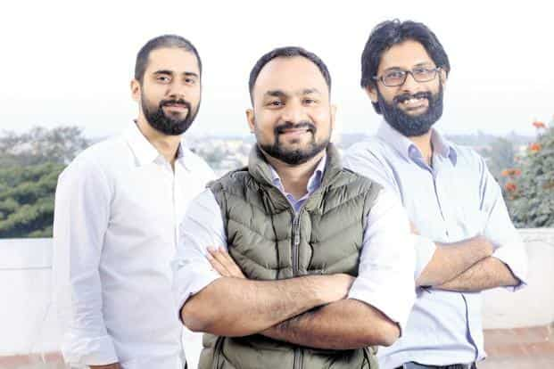 (From the left) Instamojo founders Akash Gehani,  Sampad Swain and Aditya Sengupta. Instamojo, which currently has about 150 employees, is planning to increase its headcount to about 250.