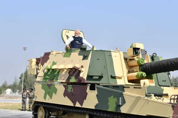 PM Modi inaugurates country's first private Howitzer plant